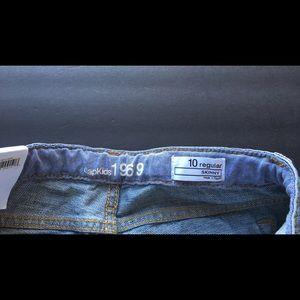 GAP Bottoms - Gap kids girls denim jeans pants 10 new NWT